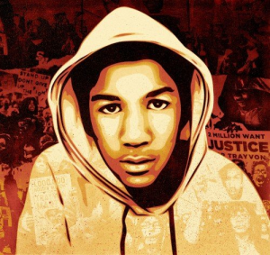 Portrait of Trayvon Martin