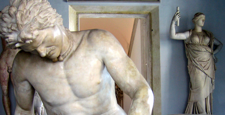 The Dying Gaul - sculpture